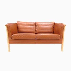Dänisches Mid-Century Zwei-Sitzer Sofa von Mogens Hansen
