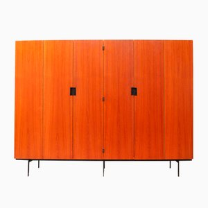 Large Mid-Century KU-16 Japanese Series Wardrobe by Cees Braakman for Pastoe