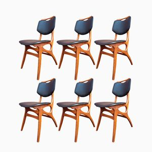 Mid-Century Dining Chairs from Pynock, Set of 6