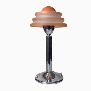 Dänische Art Deco Modell Fried Egg Tischlampe von Fog & Mørup, 1930er