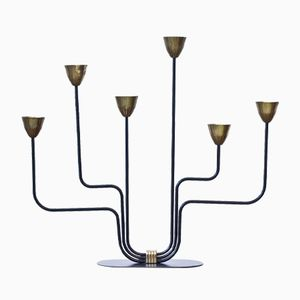 Candelabra by Gunnar Ander for Ystad-Metall, 1950s