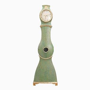 Antike Schwedische Mora Uhr in Grün