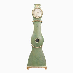 Antique Green Swedish Mora Clock
