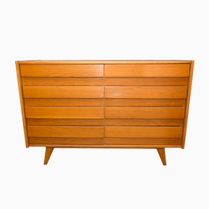 Mid-Century U-453 Chest of Drawers by Jiří Jiroutek for Interier Praha, 1960s