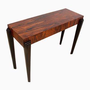 Mid-Century Italian Rosewood Console Table