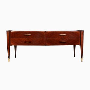 Mid-Century Italian Rosewood Chest of Drawers