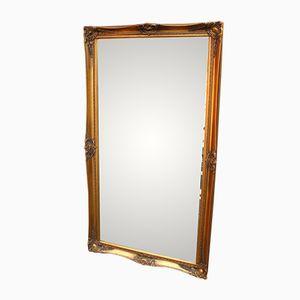 Großer Vergoldeter Vintage Spiegel