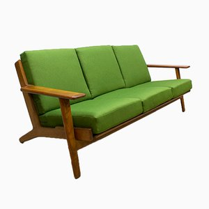 Mid-Century GE290 Sofa by Hans Wegner for Getama