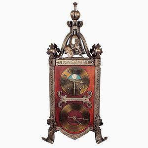 Orologio da tavola in stile gotico, Francia, fine XIX secolo