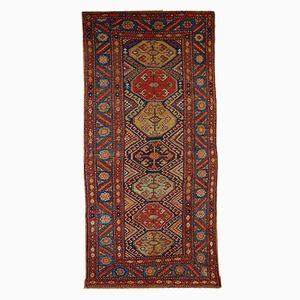 Antiker Persischer Handgeknüpfter Teppich, 1880er