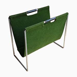 Green Velour Magazine Rack from Brabantia