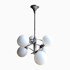 Space Age Sputnik Chrome Chandelier