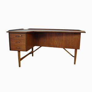 Organischer Schreibtisch von Peter Lovig Nielsen für Hedensted Mobelfabrik, 1956