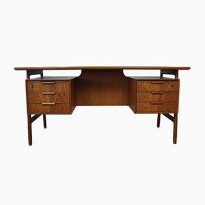 Mid-Century Modell 75 Schreibtisch von Omann Jun
