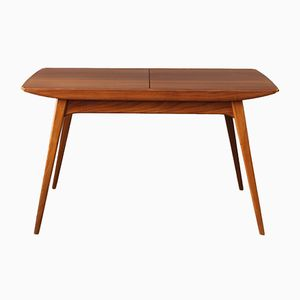 Mid-Century Extendable Dining Table by Louis van Teeffelen