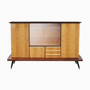 Maple Highboard Buffet, 1950s