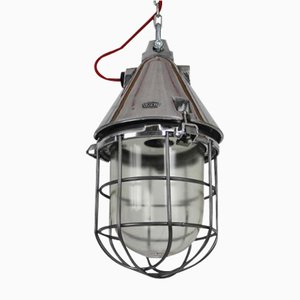 Industrial Bunker Lamp from VEB EOW