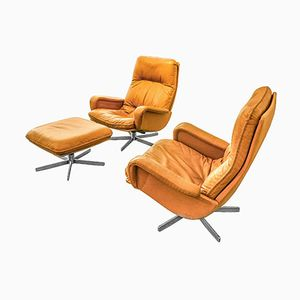 S-231 Lounge Chair Set from de Sede, 1970s