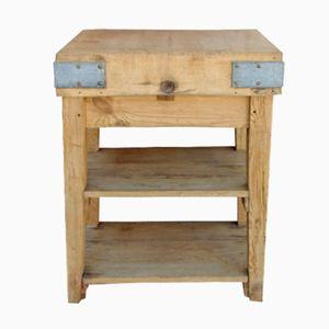 Table de Boucher Vintage en Érable