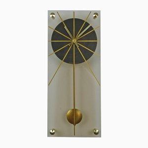 Orologio da parete in plexiglas, Germania, anni '60