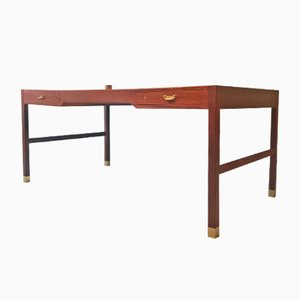 Danish Teak Desk by Ole Wanscher for A.J.Iversen, 1944
