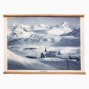 Litograph of Arlberg, 1929