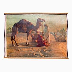 Litograph of a Desert Scene, 1918
