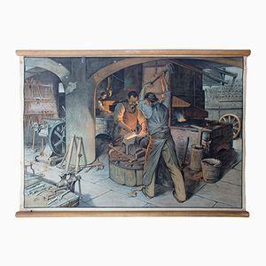 Tableau Éducatif d'une Forge, 1929