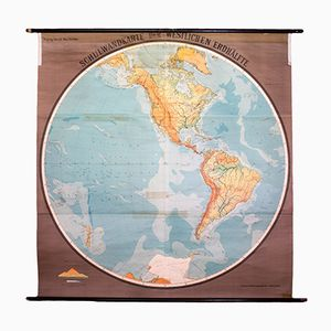 Wandplakat der Westlichen Hemisphere, 1959