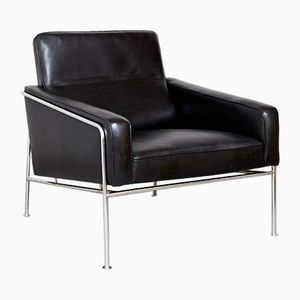 Series 3300 Lounge Chair by Arne Jacobsen for Fritz Hansen, 1956