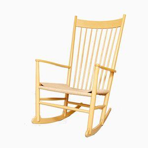 Rocking Chair J16 Vintage par Hans J. Wegner pour Ry Møbler