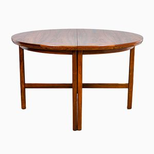 Rosewood Extending Dining Table by Archie Shine for Robert Heritage, 1960s
