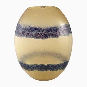 Vintage Gradient Scavo Murano Glasvase von Alfredo Barbini für Barbini