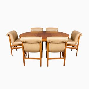 Dining Table & Six Chairs from White & Newton, 1960s