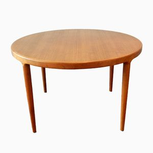 Danish Extendable Dining Table in Teak, 1960s