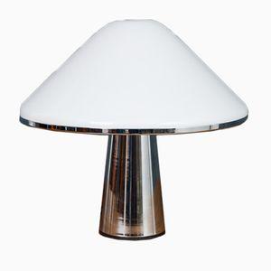 Pilz Tischlampe aus Chrom & Plexiglas von iGuzzini, 1970er