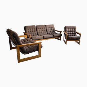 Scandinavian Living Room Set, 1970s