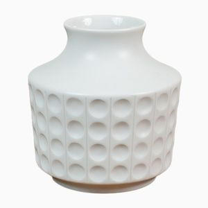 Op Art Porcelain Vase from Hutschenreuther, 1970s