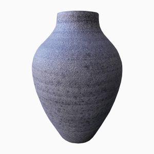 Vaso da terra vintage grande di Silberdistel Keramik