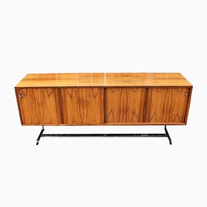 Rosewood and Chrome Sideboard by Richard Young for Merrow Associates, 1960s