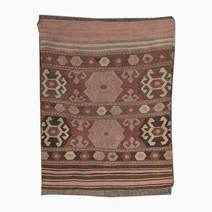 Vintage Kilim Pars Grill Carpet, 1940s