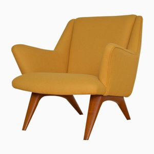 Danish ML Armchair by Illum Wikkelso for Mikael Laursen, 1950s
