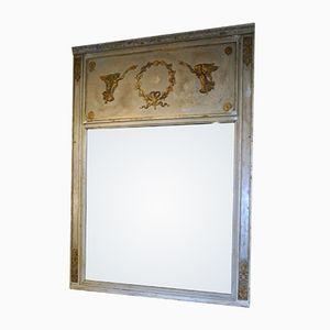 Französischer Trumeau Spiegel aus 19. Jhdt.