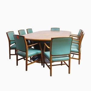 Rolls Royce Sitzungssaal Tisch & Stühle von Lupton & Morton, 1940er