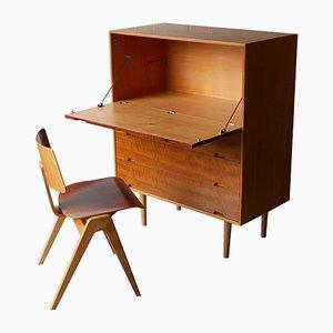 J Einheit und Hillestak Stuhl von Robin & Lucienne Day für Hille, 1950er