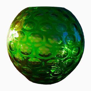 Green Vase by Borske Sklo, 1960s