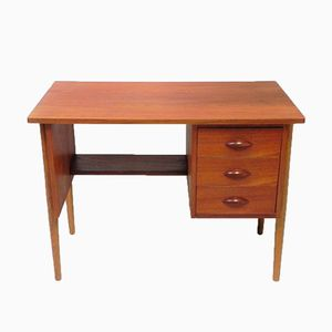 Kleiner Dänischer Vintage Teak Schreibtisch