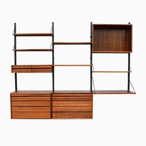 Rio Rosewood Royal Wall Unit by Poul Cadovius for Cado, 1950s