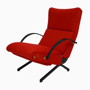 Vintage P40 Lounge Chair by Osvaldo Borsani for Tecno