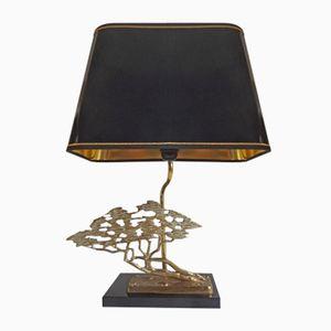 Bronze Bonsai Table Lamp from Massive, 1970s